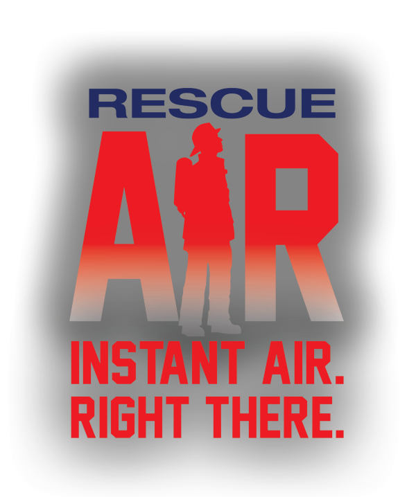 installing signage on high rise rescue air systems